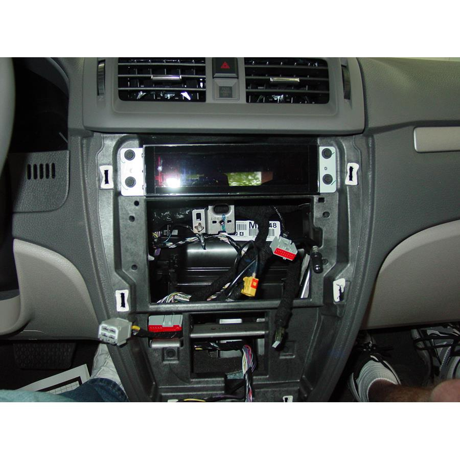 2012 Ford Fusion Factory radio removed