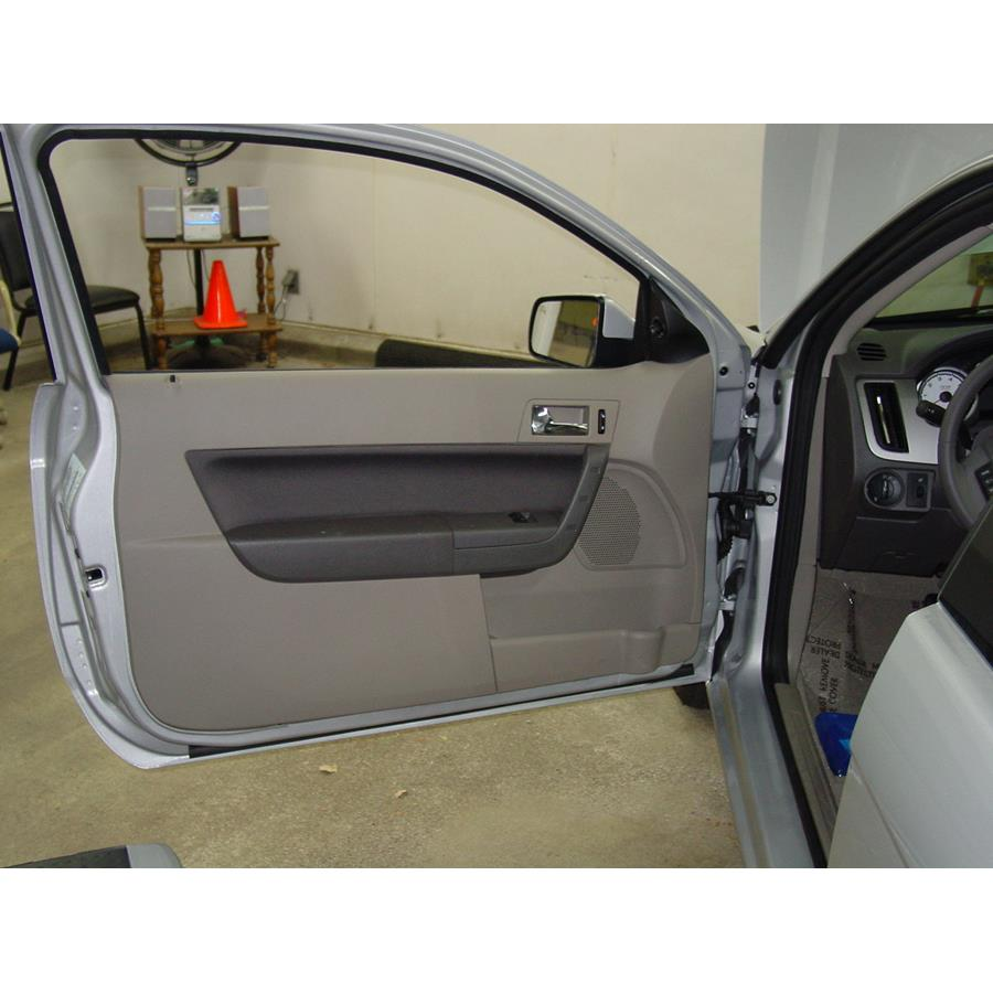 2011 Ford Focus Front door speaker location