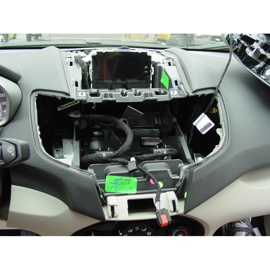 2011 Ford Fiesta Factory radio removed