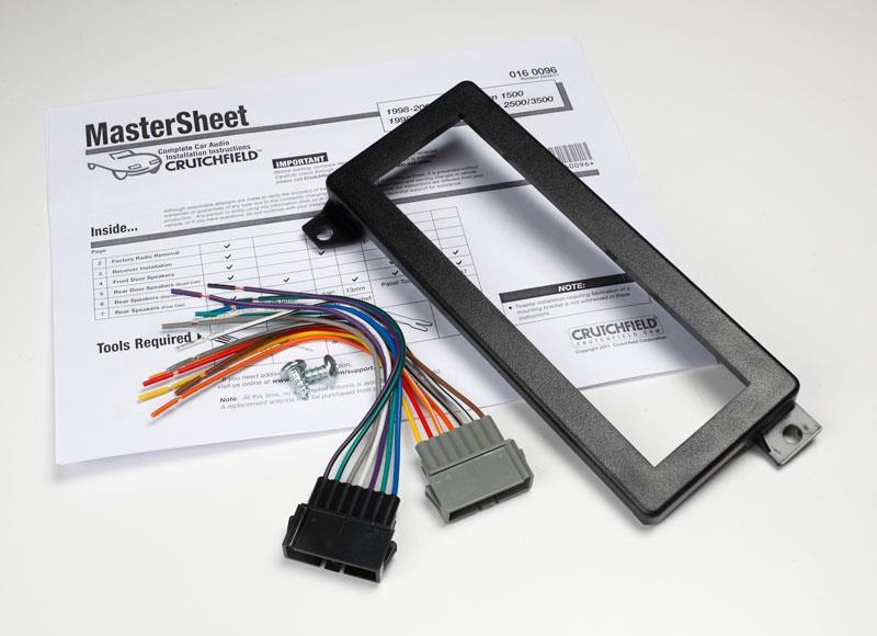 kit, wiring, and mastersheet for 2001 ram