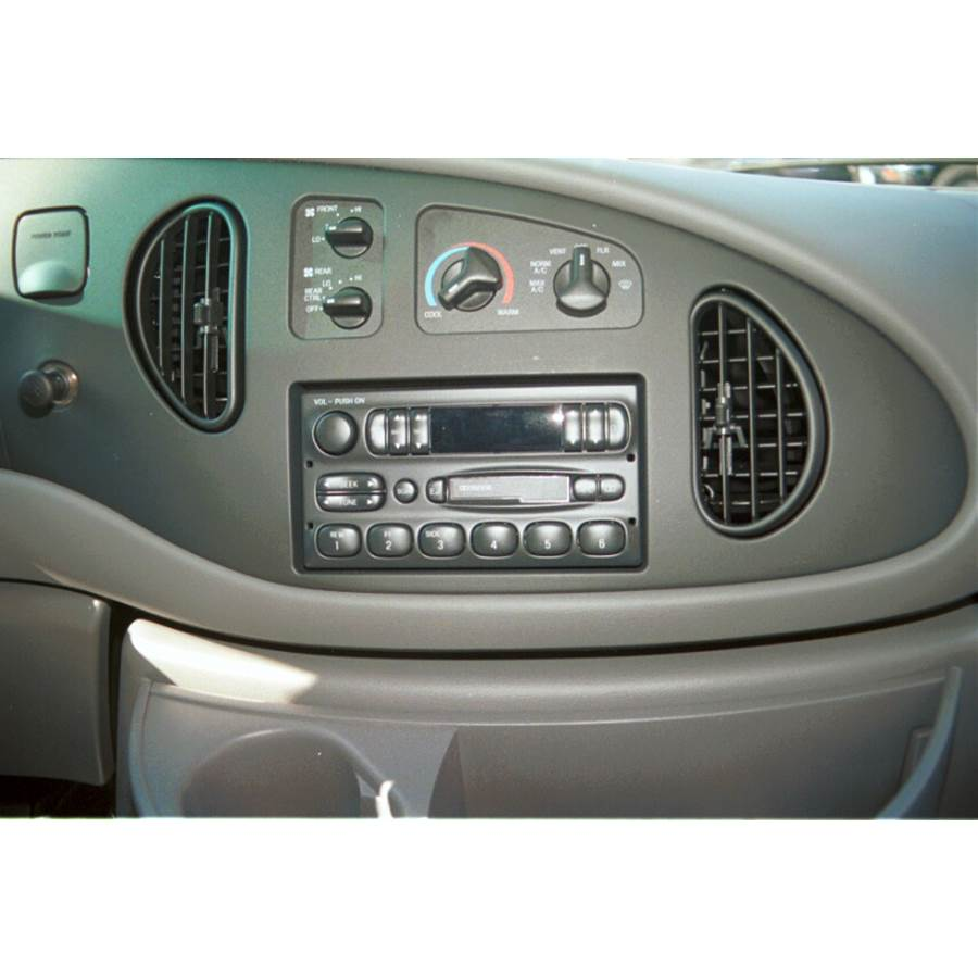 1997 Ford E Series Other factory radio option