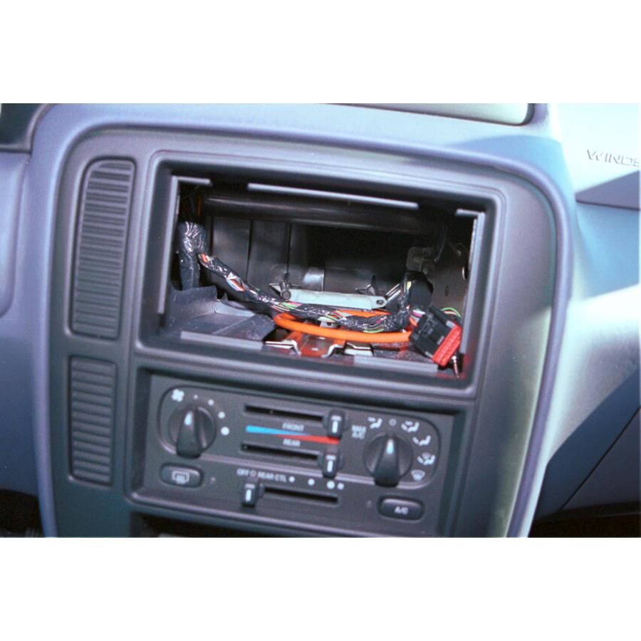 2003 Ford Windstar Factory radio removed