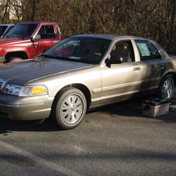 2008 Ford Crown Victoria Exterior