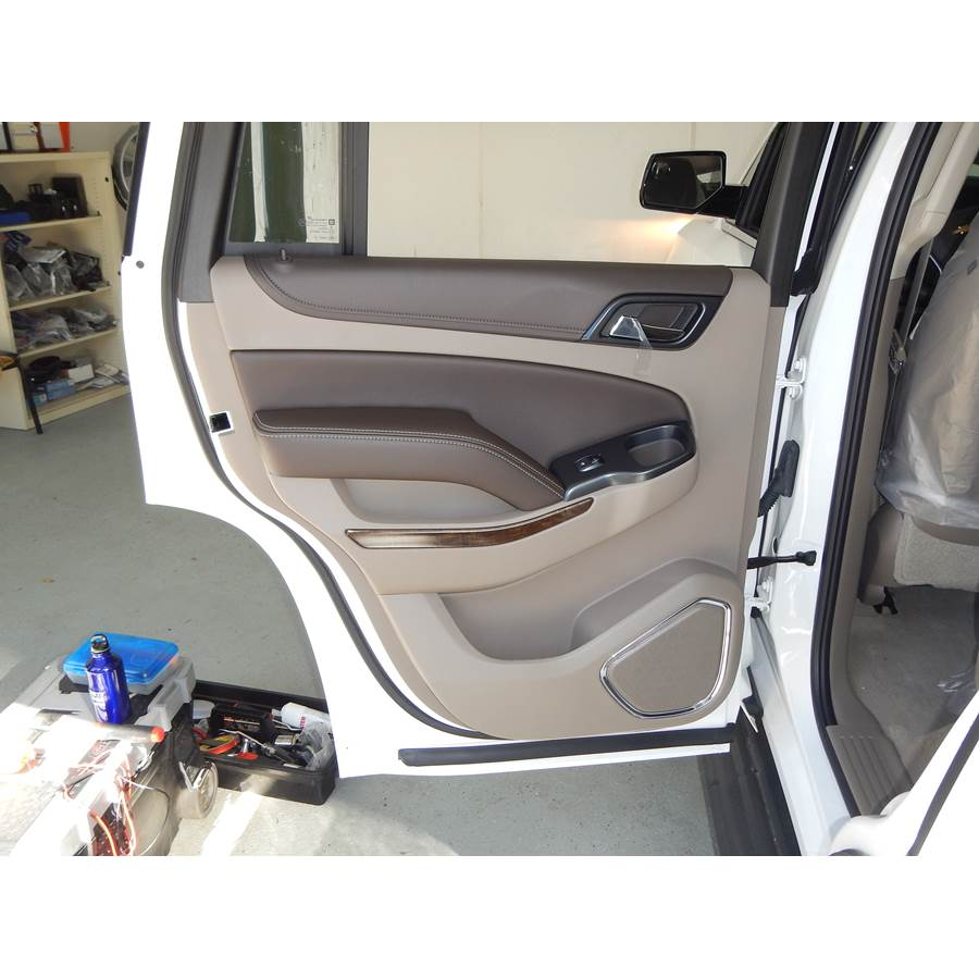 2018 Chevrolet Tahoe LS Rear door speaker location