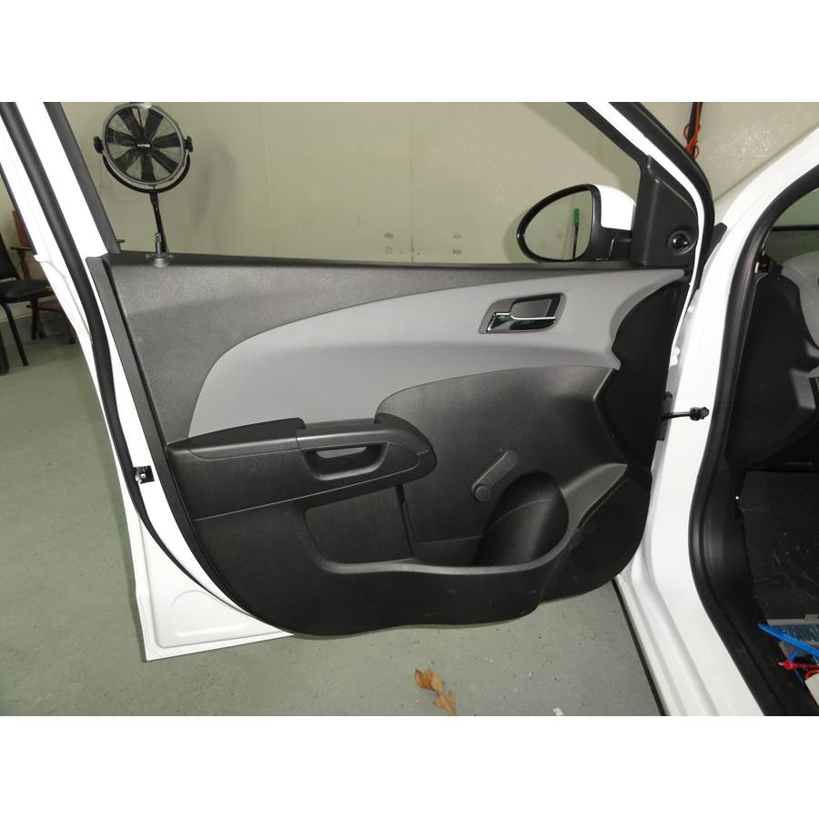 2014 Chevrolet Sonic Front door speaker location