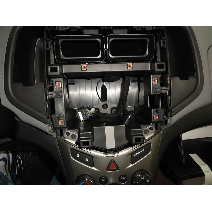2014 Chevrolet Sonic Factory radio removed