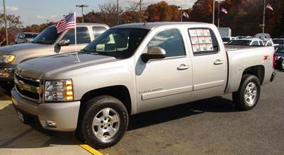 2007-2013 Chevrolet Silverado and GMC Sierra Crew Cab