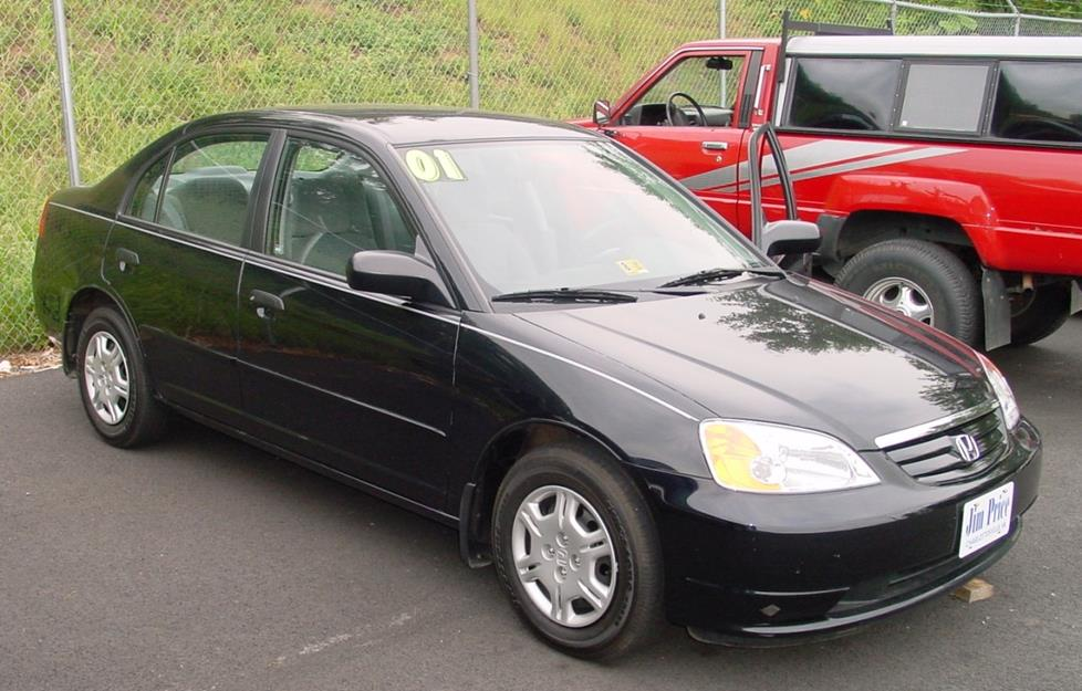 2001 Honda Civic LX sedan