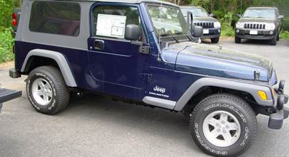 2004-2006 Jeep Wrangler Unlimited
