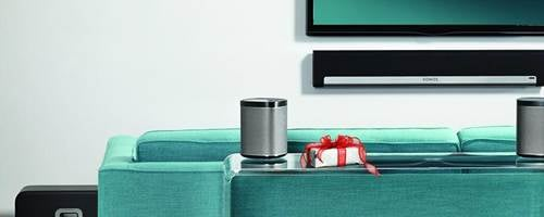Wireless surround sound with Sonos