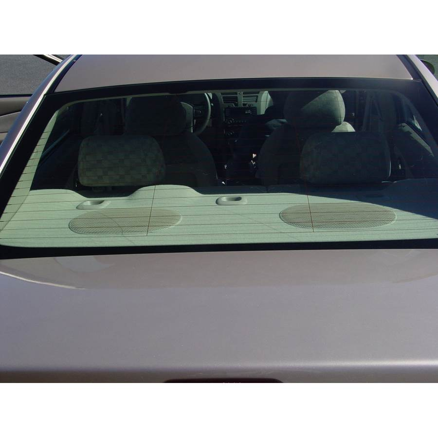 2008 Chevrolet Malibu (Classic) Rear deck speaker location