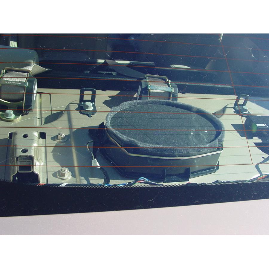 2008 Chevrolet Malibu (Classic) Rear deck speaker