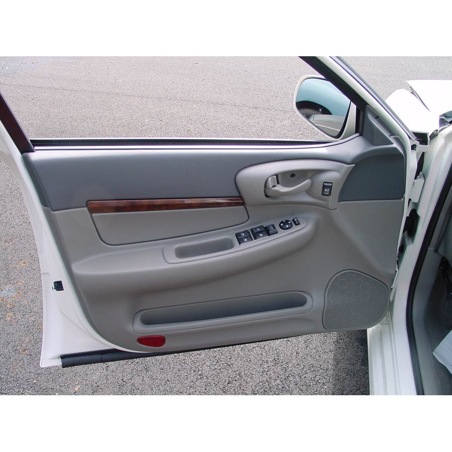 2000 Chevrolet Impala Front door speaker location