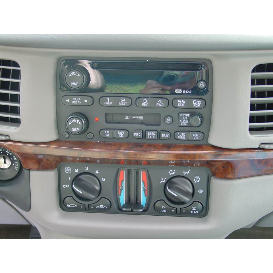 2000 Chevrolet Impala Factory Radio