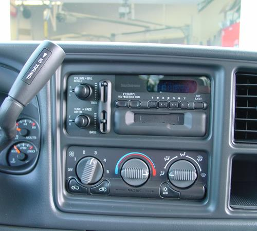 2002 GMC Sierra 2500/3500 Factory Radio