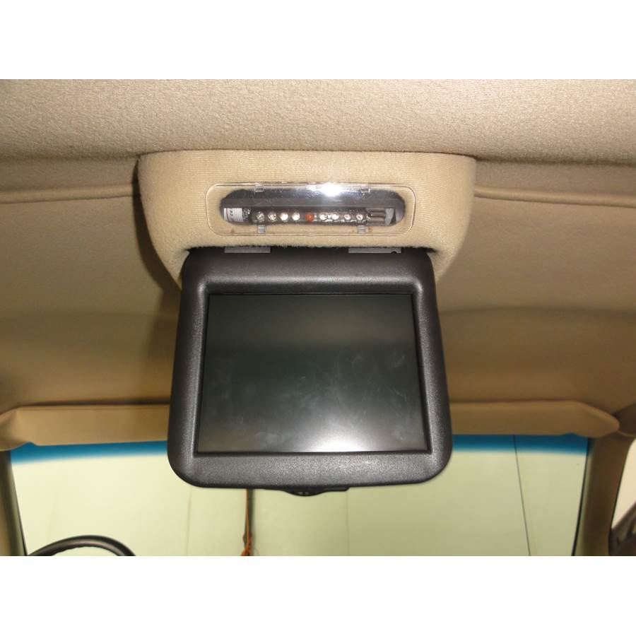 2001 Chevrolet Express Rear entertainment system