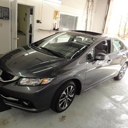2012 Honda Civic DX Exterior
