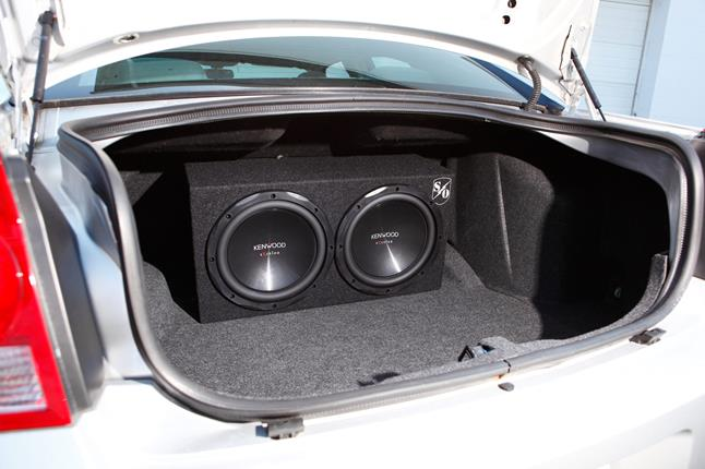Kenwood subs in a Sound Ordnance subwoofer box