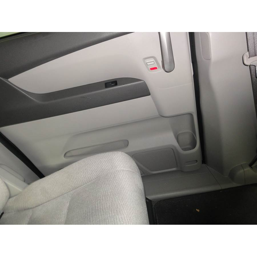 2017 Honda Odyssey EX-L Rear door speaker location
