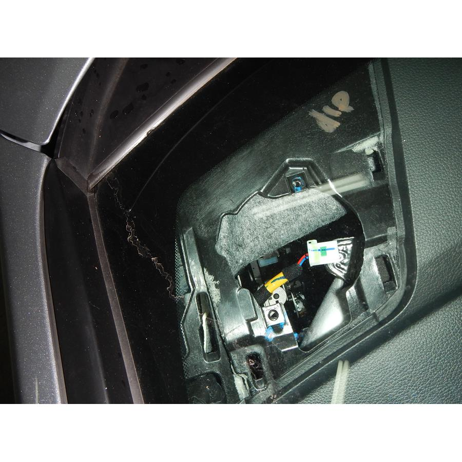 2017 Hyundai Sonata SE Dash speaker removed