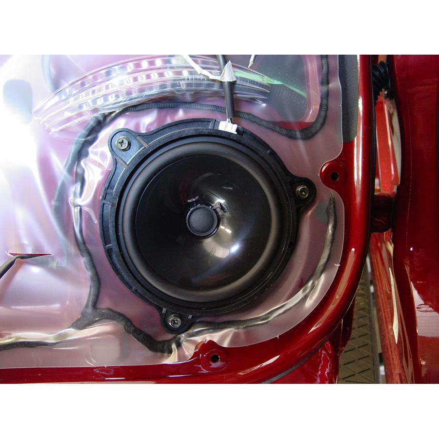 2014 Nissan Titan PRO-4X Rear door speaker