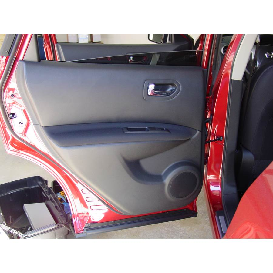 2011 Nissan Rogue Rear door speaker location