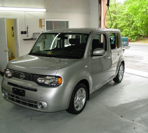 2010 Nissan Cube Exterior