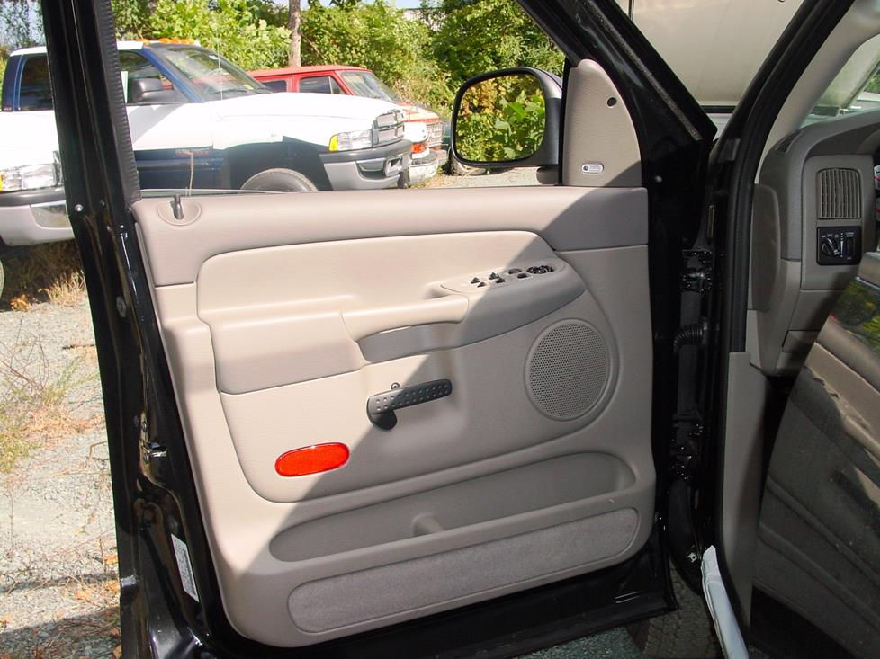 Dodge Ram front door