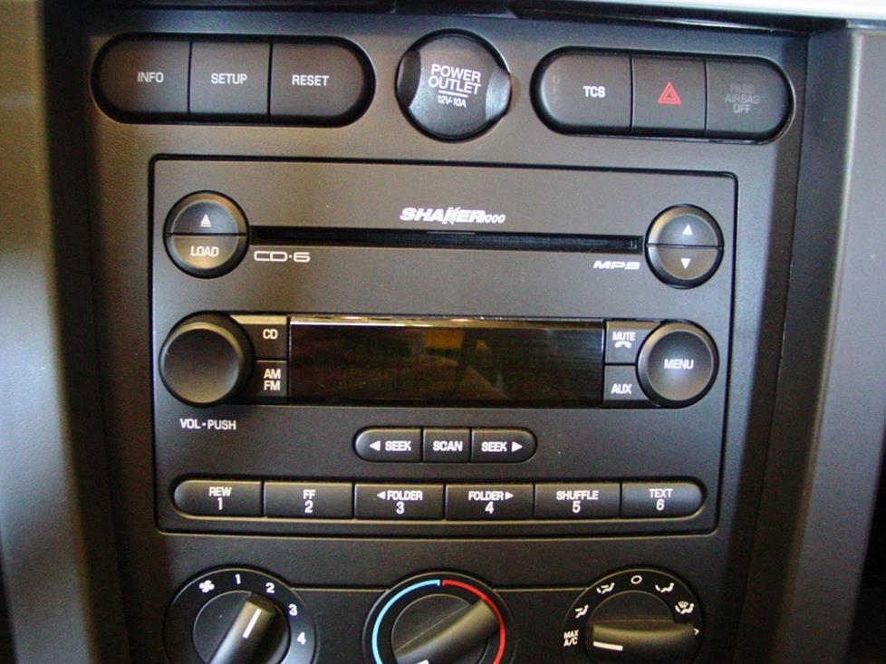 2006 Ford Mustang Radio Wiring Diagram