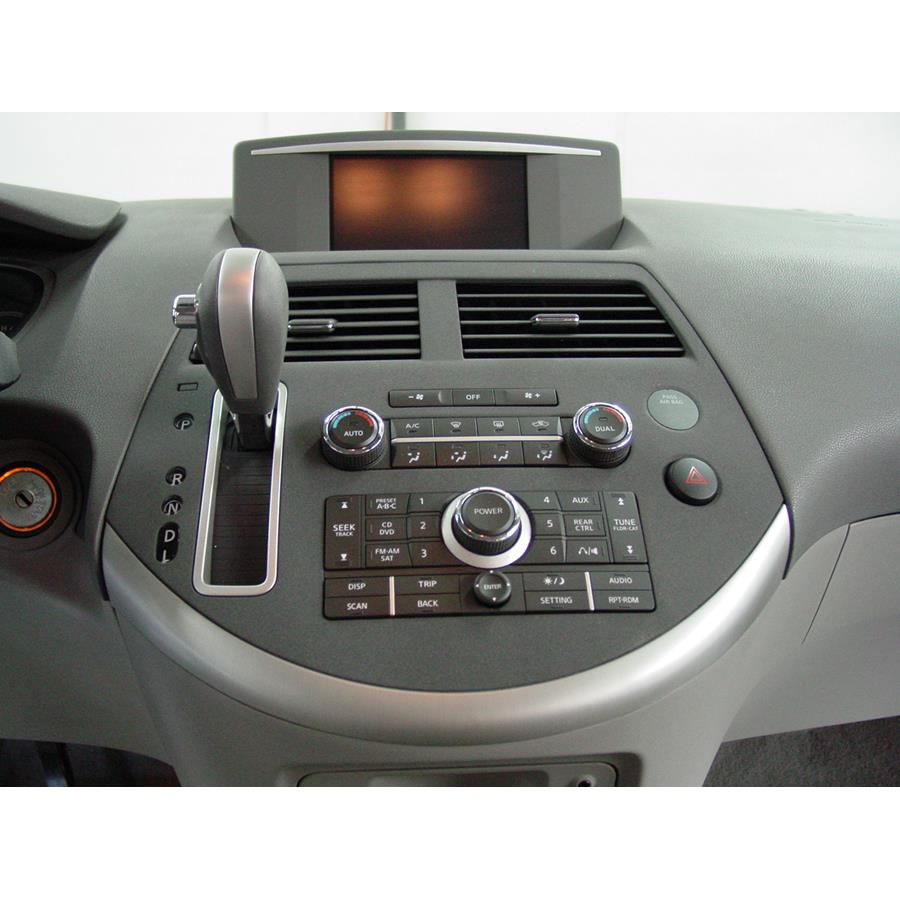 2008 Nissan Quest Factory Radio