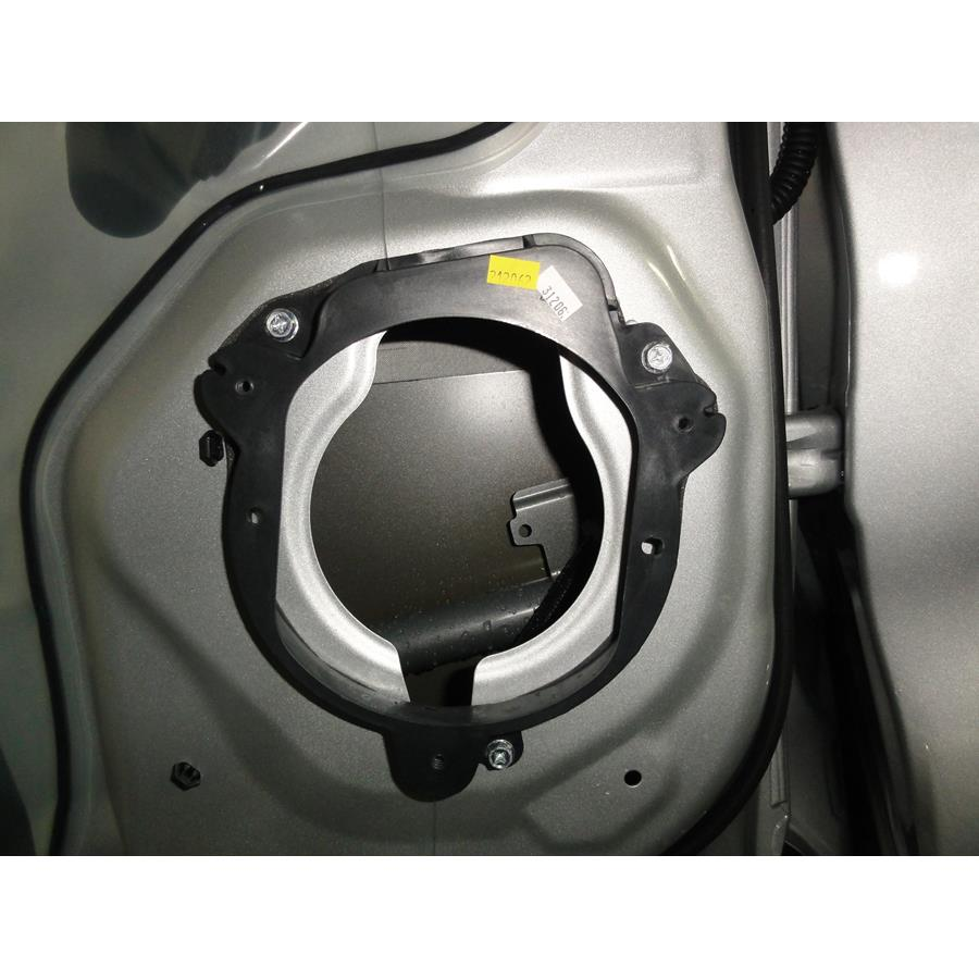 2017 Nissan Pathfinder Rear door speaker removed