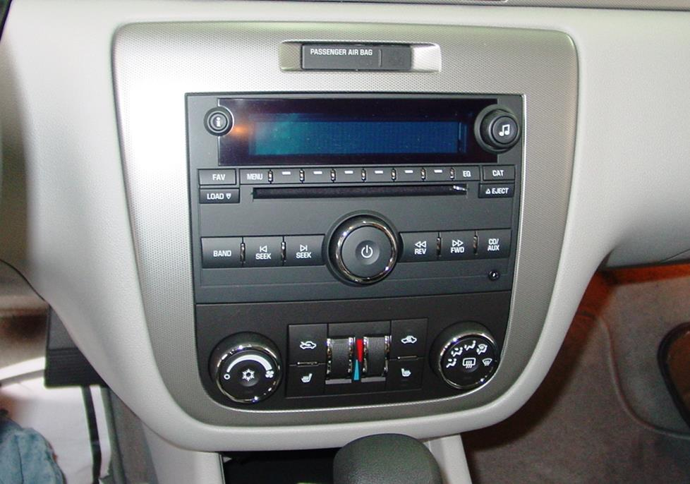 Chevy Impala factory radio