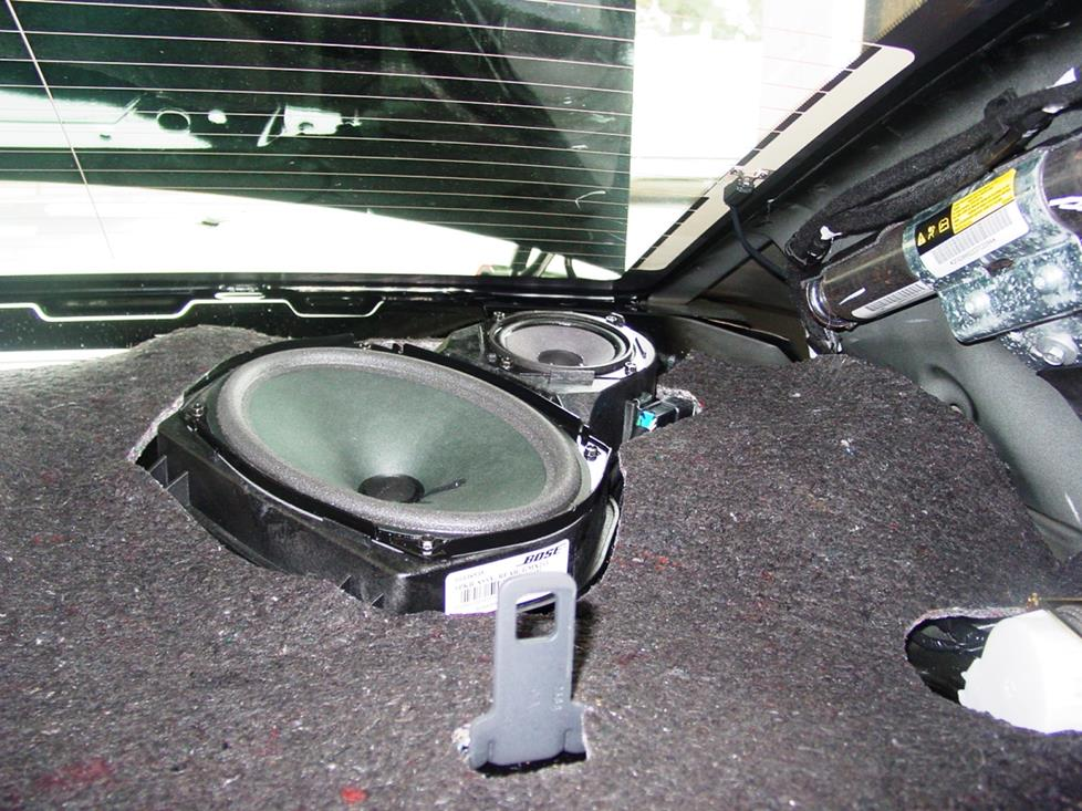 Chevy Impala rear deck tweeters