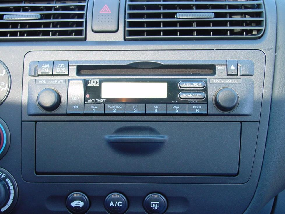 honda civic factory CD stereo