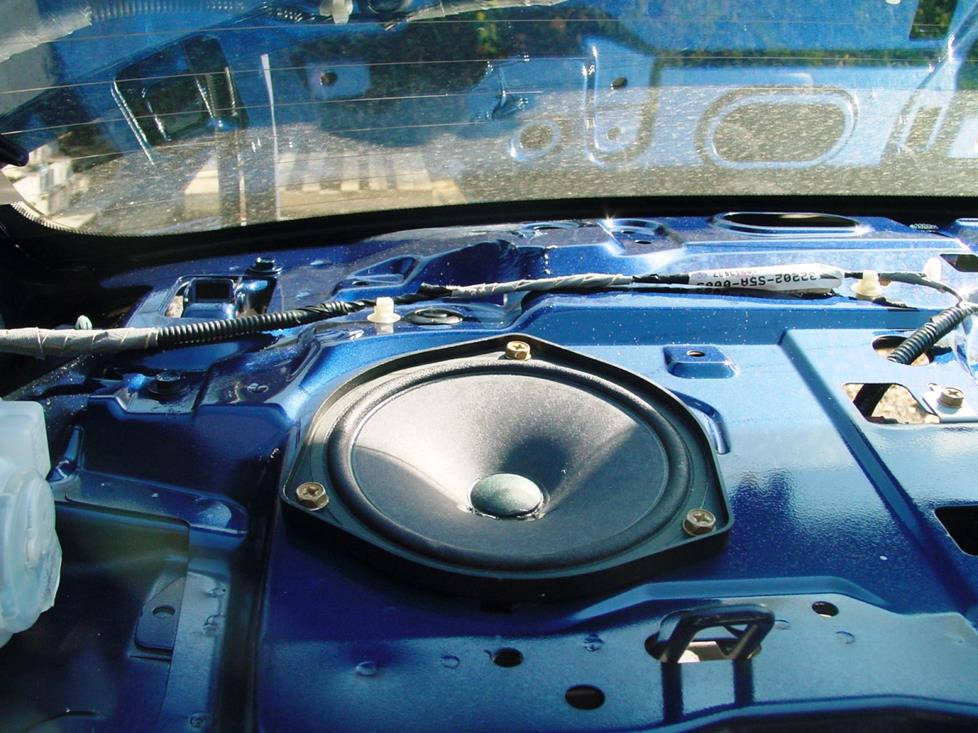 honda civic rear deck speaker