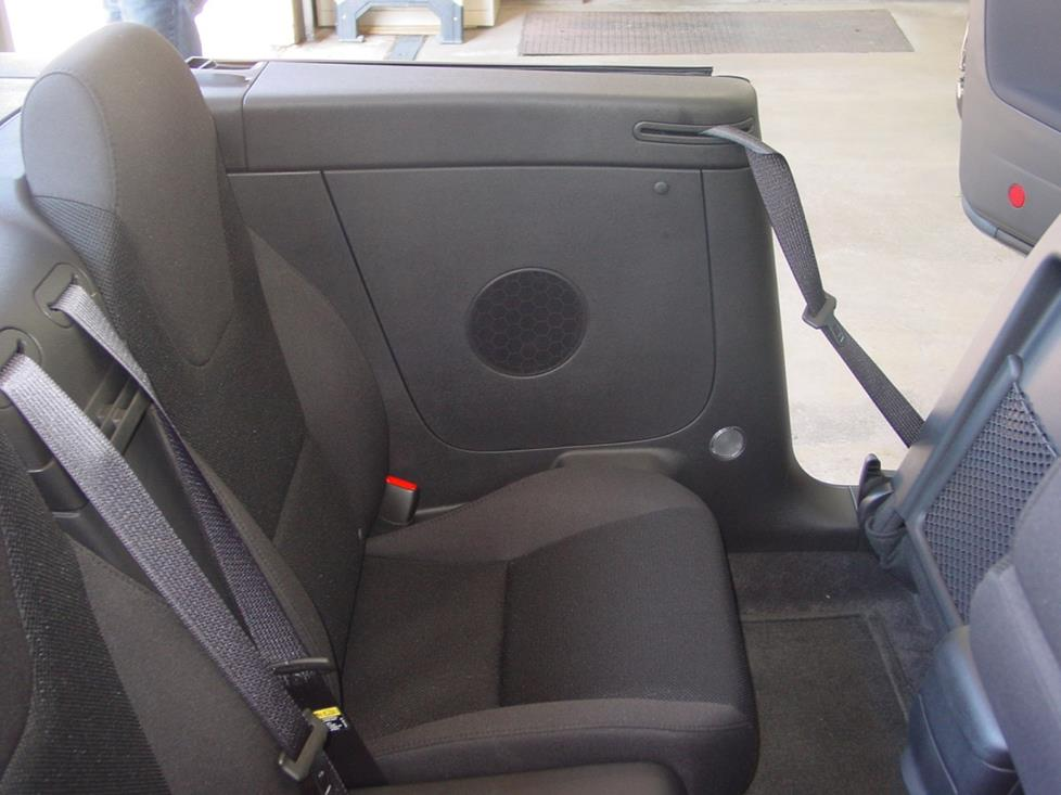 Pontiac G6 convertible speakers