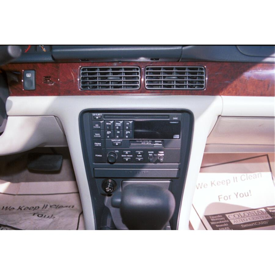 1997 Nissan Altima Other factory radio option