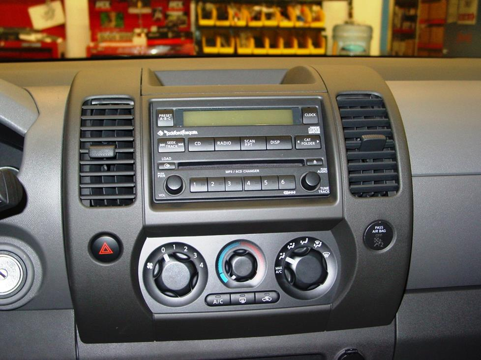 2005-2012 Nissan Xterra Car Audio Profile on