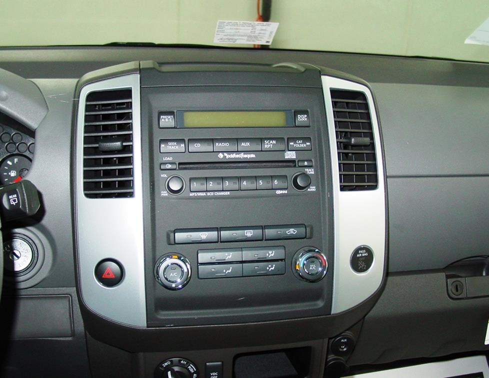 install   stereo  speakers
