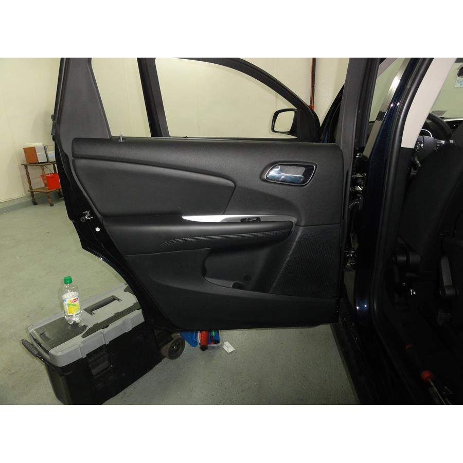 2016 Dodge Journey Rear door speaker location
