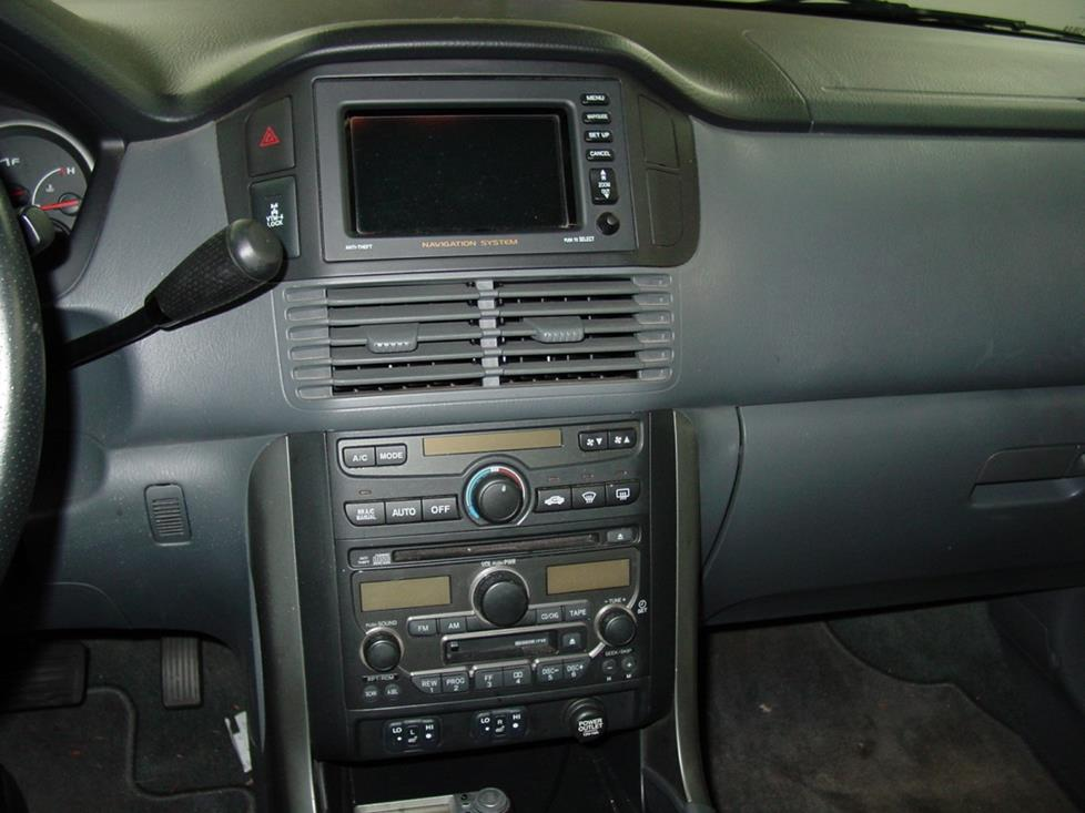 Honda Pilot Receiver With Navigation