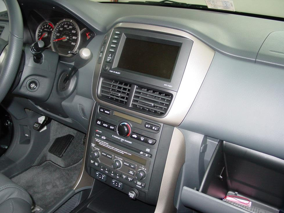 2006-up Honda Pilot radio with navigation