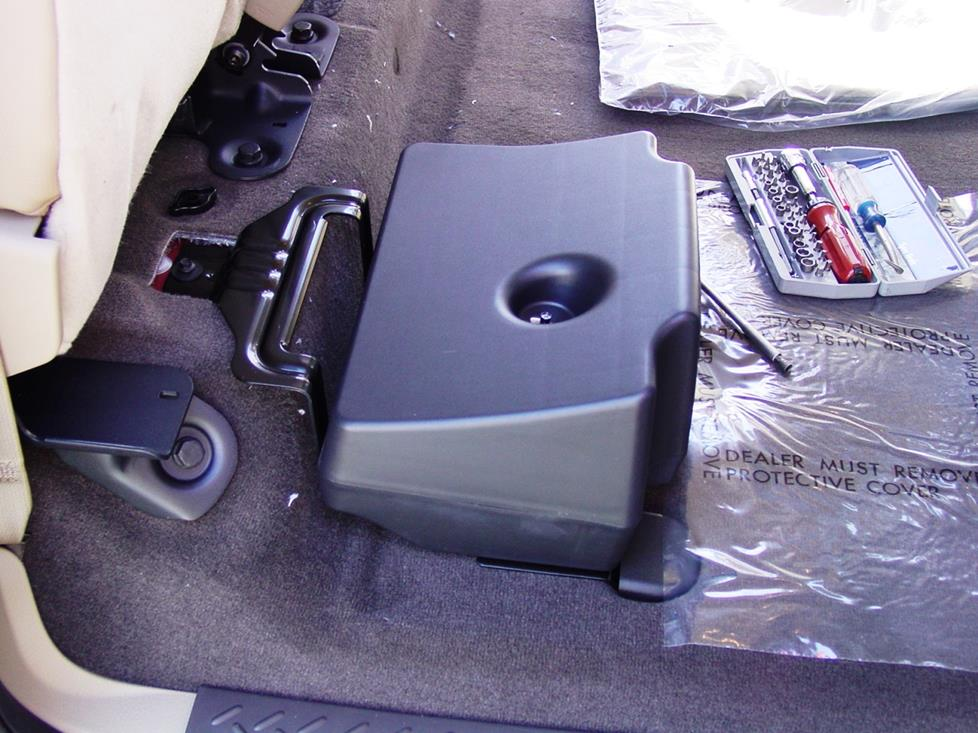 Ford F-150 SuperCrew subwoofer