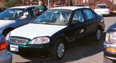 1999-2000 Honda Civic coupe/sedan