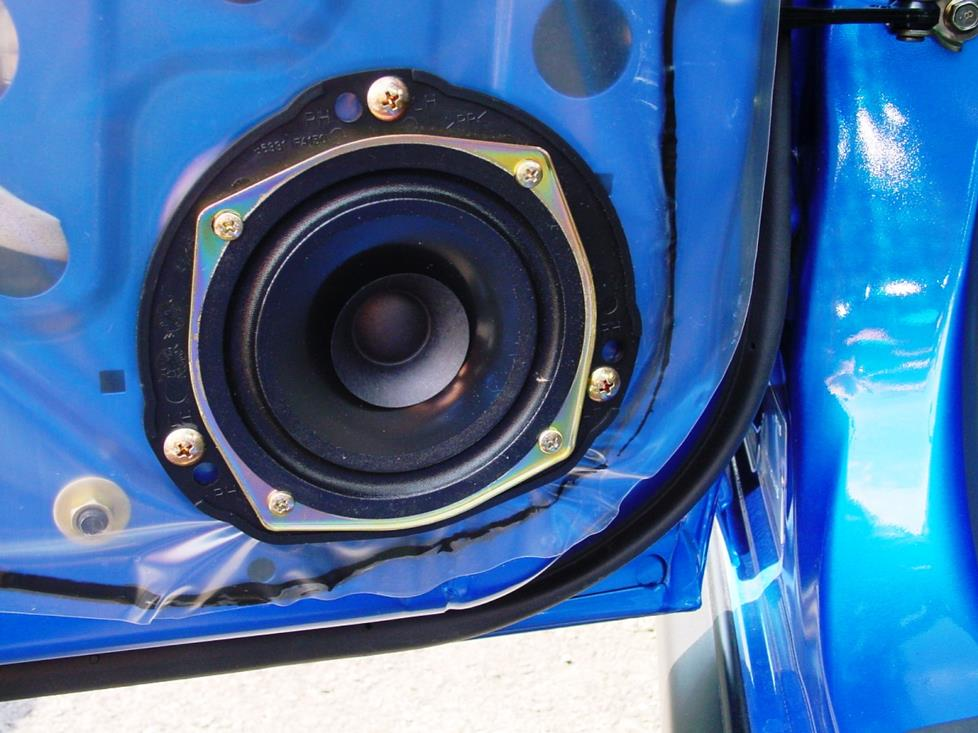 subaru wrx rear door speaker