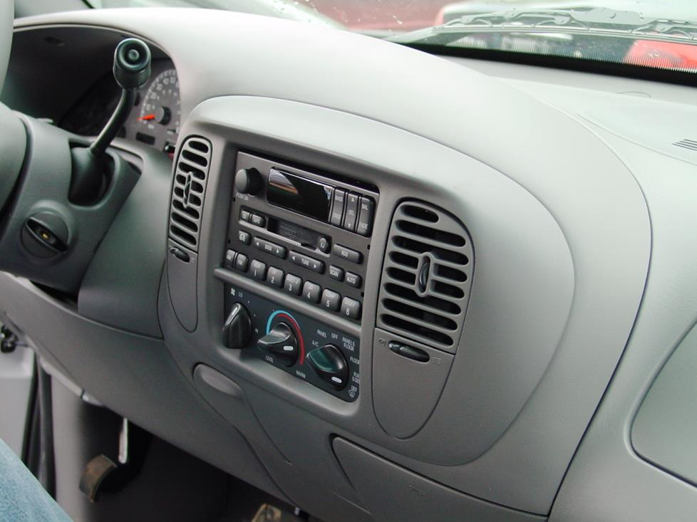 Ford F-150 dashboard