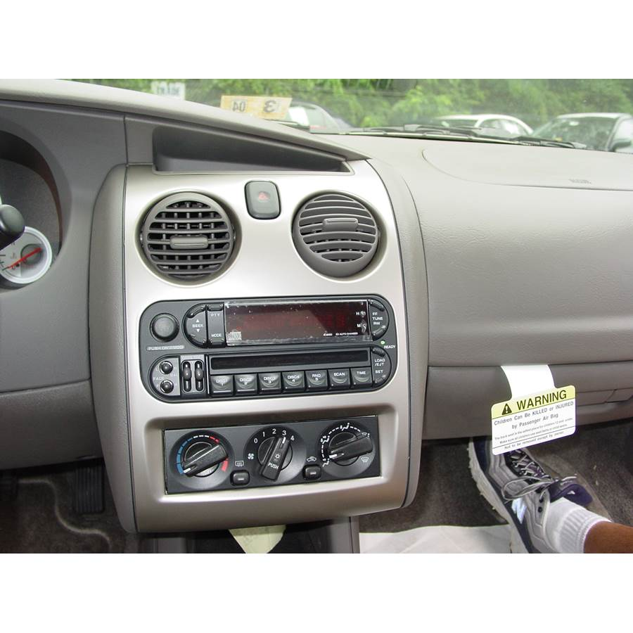 2001 Dodge Stratus Factory Radio