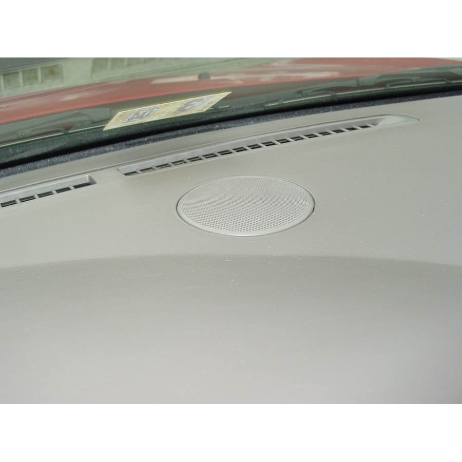 2001 Dodge Stratus Center dash speaker location