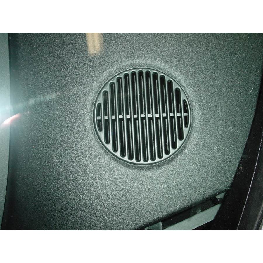 2001 Dodge Stratus Dash speaker location