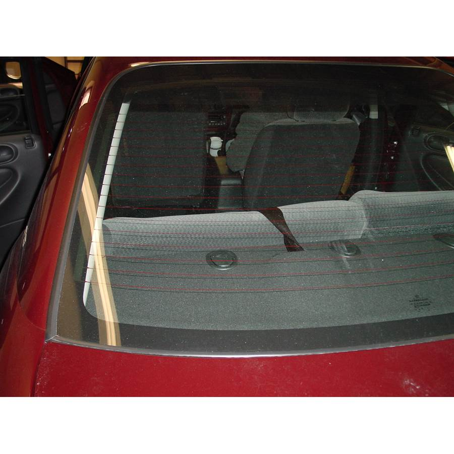 2001 Dodge Stratus Rear deck speaker location